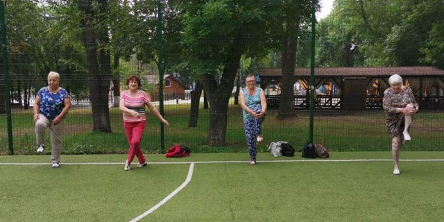 13.07.2020 Занятия по адаптивной физической культуре и гимнастике для пожилых людей