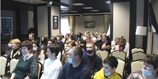 Белгород. Школа гемофилии. Апрель 2021