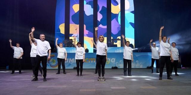 14.04.2021 Пожилые люди Самары приняли участие в Гала-Концерте Гимнастрады!