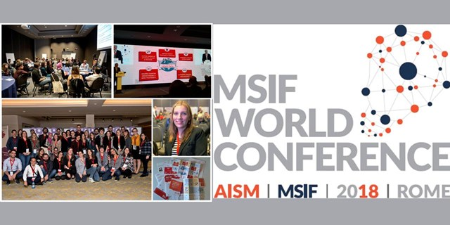 24–28.10.2018 Rome, Italy. MSIF world conference